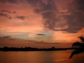 Beautiful Sunset over Boca Ciega Bay