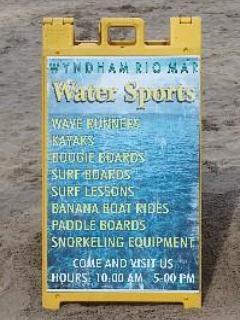Wyndham Rio Mar Water sports