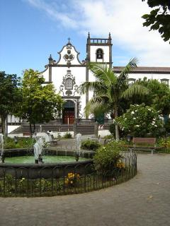 Vila Franca Church and Park Square