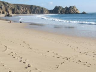 Wolf Rock Holiday Apartment in Porthcurno Cornwall, Penzance