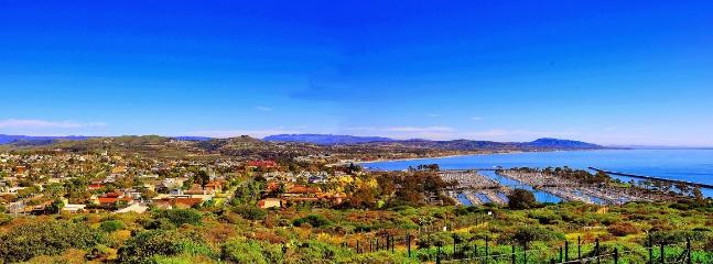 View of Dana Point seen from a nearby hiking trail.