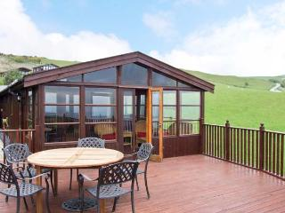 PENTREF, large family property, pet-friendly cottage, decked garden and