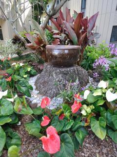 Gardens at the condo