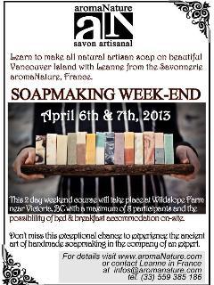 Soap Making at Wildslope