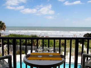 ** Direct Ocean, Bright Corner Unit by the Pier! *, Cocoa Beach