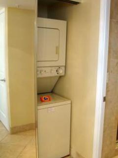 Laundry Closet in Bathroom