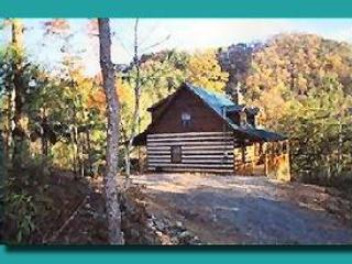 Secluded cabin, sits out on the point of private mountain so it has great mountain views