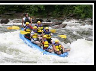 rafting in the area