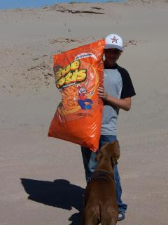 A LITTLE BAG OF CHEETOS FOR THE WAY HOME