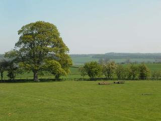 THE COTE, stone cottage, beautiful views, rural location, walks from door in Staindrop, Ref 16414