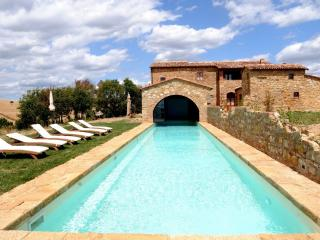 Villa Chiara holiday vacation villa rental italy, tuscany, pienza, holiday vacat