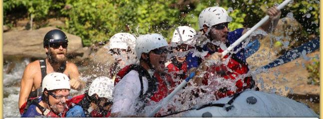 Ocoee Whitewater Rafting (35 mins away) Rolling Thunder River Co.