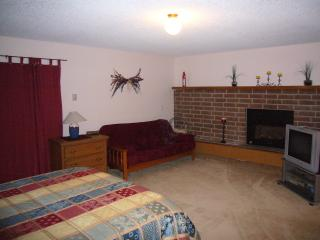 Master Bedroom with Gas Fireplace and Sitting Area