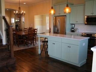 Kitchen equipped with brand new state of the art appliances