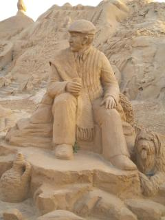 Sand Sculptures at Guia
