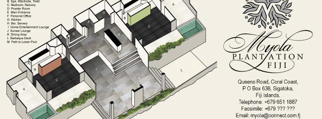 Myola villa Plan