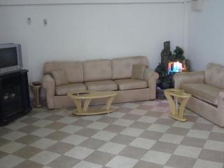 The Living Area of 2-BRM with the decorative fountain on.