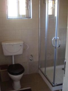 This is the second Bathrooom showing the Shower and WC