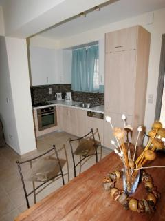 Fully equipped Kitchen of 2 People villa