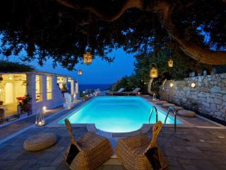Beach stylish villa with private pool, Paros