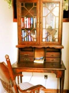 Rushing Waters Cabin-Antique Writing Desk