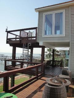 Balconies of Top floor and Middle floor are connected with a sprial staircase