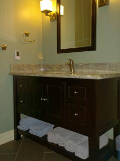 Bathroom renovated in 2014