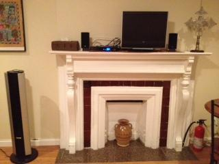 Decorative Fireplace (Flat Screen TV)