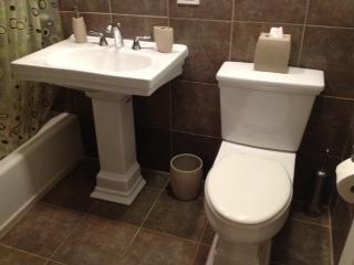 Bathroom (Sink & Toilet)