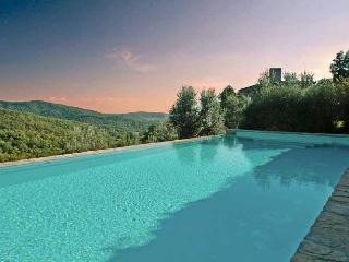 Swimming Pool overlooking the Tuscan hills