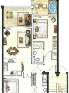 plan of appartment