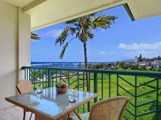 OCEAN VIEW Penthouse H403 is a GREAT prime view VALUE, Kapaa