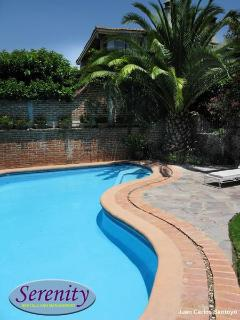 Pool level terrace