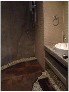 Uniquely designed bathroom