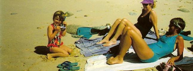 Sun Bathing at Cabo Pulmo