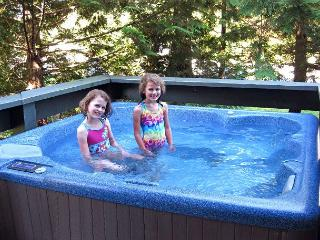 2 bdm, 2 bath, private hot tub, ski home, close to lifts, washer dryer,, Whistler