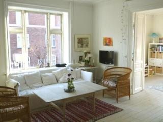 High-ceilinged Copenhagen apartment at Frederiksberg