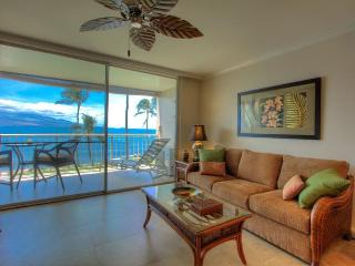 MARCH 4-10 Available OCEANFRONT Perfect Couples getaway Updated inside AC WIFI, Maalaea