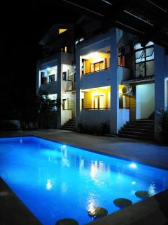 Swimming Pool Night Shot