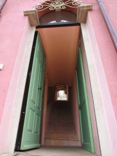 entrance in apartment 'Il Padrone'