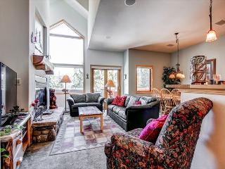 Pines Townhome Living Room Ski-in/Ski-Out Breckenridge Lodging