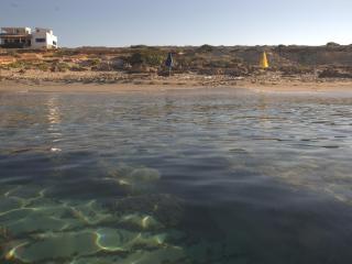 beachfront villa in private location, Formentera
