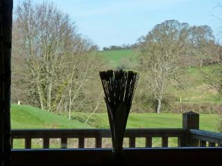 DARTMOOR EDGE LODGE, en-suite bedroom, golf, gym, in Tedburn St Mary, Ref 13133
