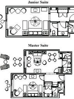 Junior Suite Floor Plan
