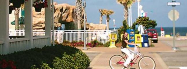201-B IS DIRECTLY ACROSS THE STREET FROM THE BOARDWALK AND OCEAN  BEYOUND AND DON'T FORGET YOUR BIKE