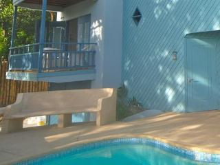 Independent access off the pool with own balcony