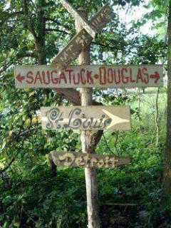 Sign @ Saugatuck Museum