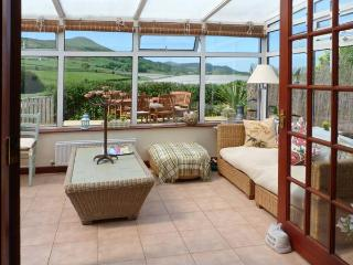 BROOK COTTAGE, woodburning stove, conservatory, decked area with countryside views in Falkland, Ref 16253