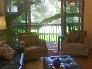 Look into the Canopy Of The Massive Oak or Relax Under the Stars In The Meadow Room with Fire Pit.