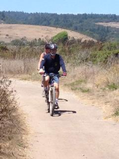 Wilder Ranch State Park for trail bikes, hidden beach coves, historic farm buildings, and blue skies